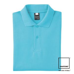 FNP101 半袖PANTONEポロシャツ(ポケット付)