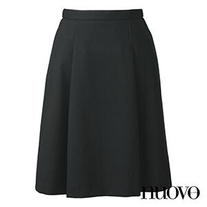 FS45898 脇ゴムソフトプリーツスカート