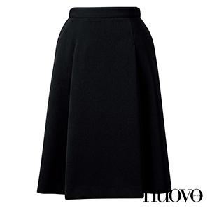 FS45991 脇ゴムプリーツスカート(58㎝丈)