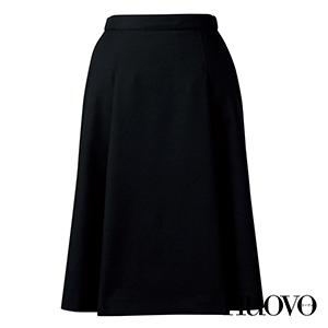 FS46011 脇ゴムプリーツスカート(58cm丈)