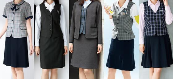 2020年春のおすすめ事務服スカート5選